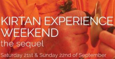 Kirtan experience weekend